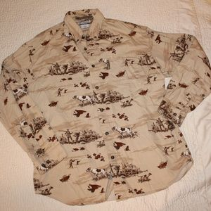 Columbia Large River Lodge Button Down
